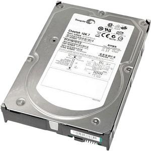 Жесткий диск Seagate 146GB U320 10K 3,5 SCSI, ST3146707LC