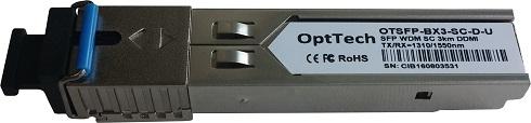 Модуль SFP OptTech OTSFP-BX3-SC-D-U