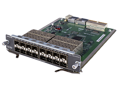 Интерфейсный модуль HPE 5800 16-port Gig-T Module. JC094A