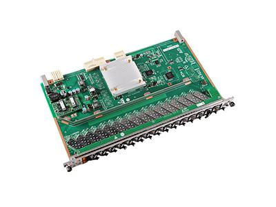 Модульная карта Huawei GPFD, 16 портов GPON для MA5608T