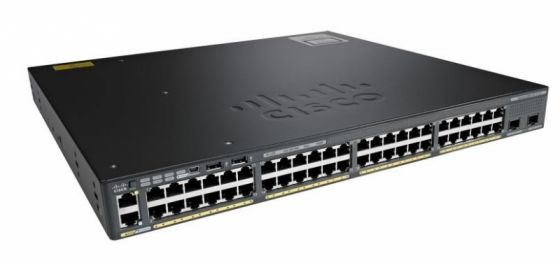 Коммутатор Cisco Catalyst WS-C2960XR-48TD-I