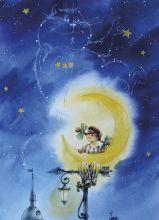 Почтовая открытка Созвездие кота