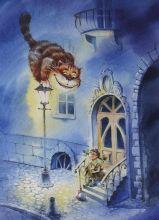Почтовая открытка Алиса с нашего двора