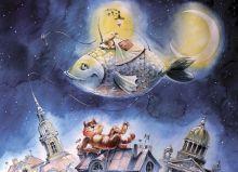 Почтовая открытка Петербургский сон