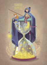 Почтовая открытка Хранитель времени