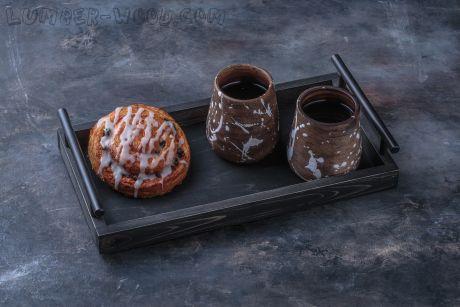 Поднос для подачи в кофейне. Арт. 1363