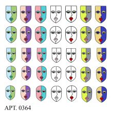 Слайдер-дизайн для ногтей № 0364