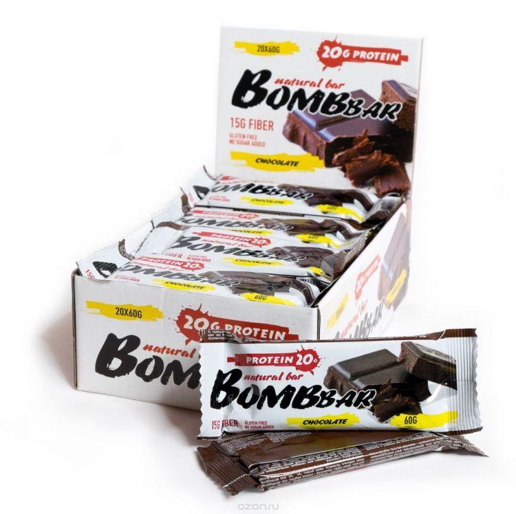 "Bombbar со вкусом ""шоколад"" 60 гр"