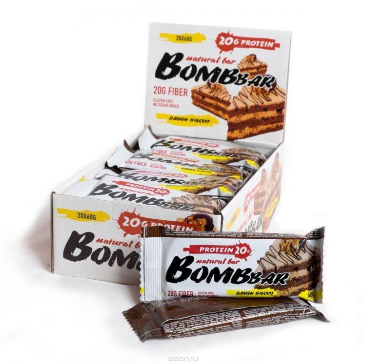 "Bombbar со вкусом ""датский бисквит"" 60 гр"