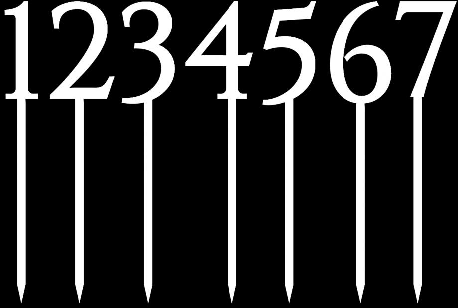 Топпер номера простые