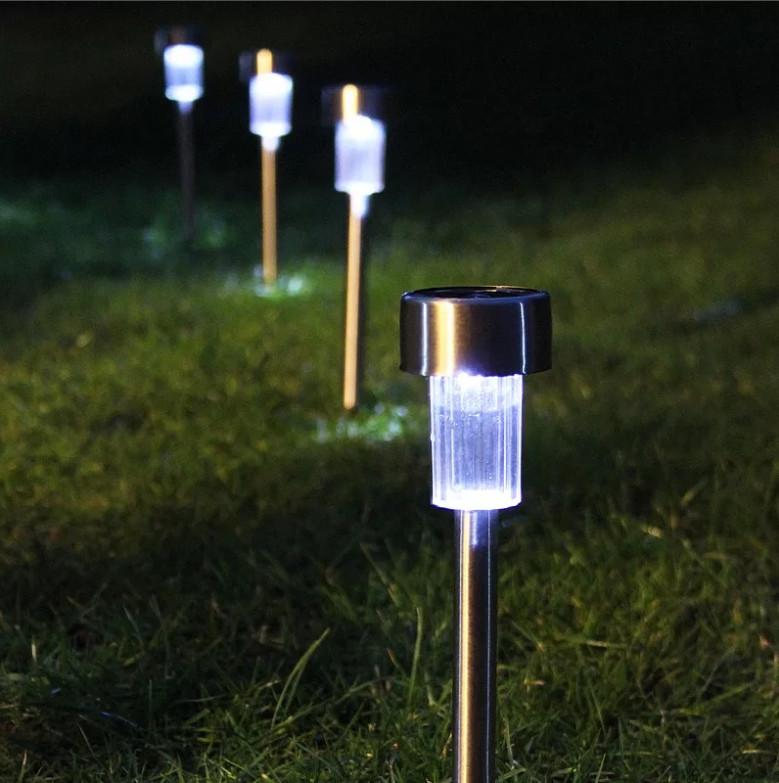 Набор садовых светильников на солнечной батарее, 10 шт