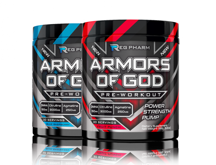 REG PHARM ARMORS OF GOD 25 порций
