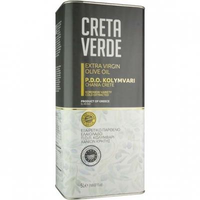Оливковое масло CRETA VERDE  - 5 л экстра вирджин PDO