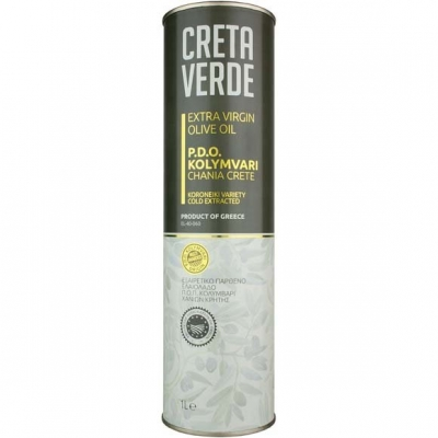 Оливковое масло CRETA VERDE  - 1 л экстра вирджин PDO