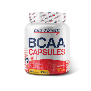 Be First BCAA 350 капс.