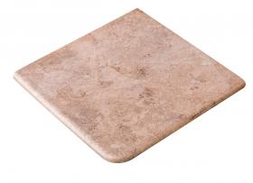 Ступень угловая Esquina Rocks Beige 33×33