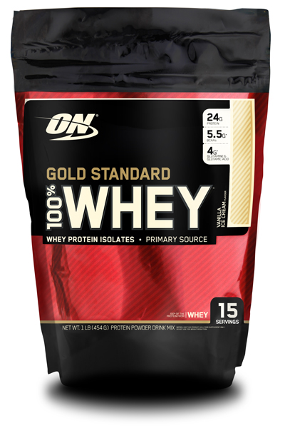 100% Whey Gold Standard от Optimum Nutrition 454 гр