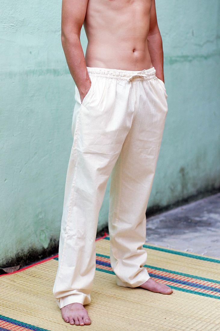 Прямые штаны из органического хлопка на заказ (отправка из Индии)