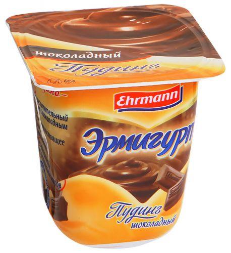 Puding Ermigurt Ehrmann südlü şokoladlı 3,2%, 100 gr