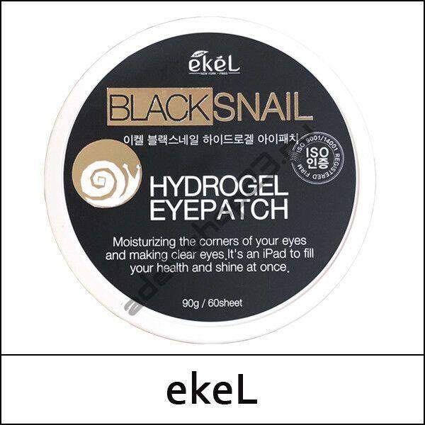 Ekel - Регенерирующие патчи под глаза с муцином чёрной улитки 60 шт.