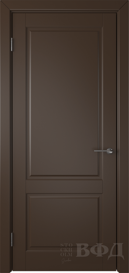 Межкомнатная дверь «Доррен» эмаль шоколад