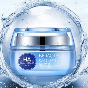 BioAqua HA Water Get Moisture Replenishment Cream Гиалуроновый крем для лица 50 г