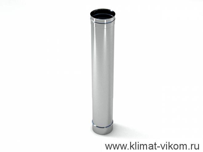 Труба ф 150,  0,5м, AISI 439/0,5мм