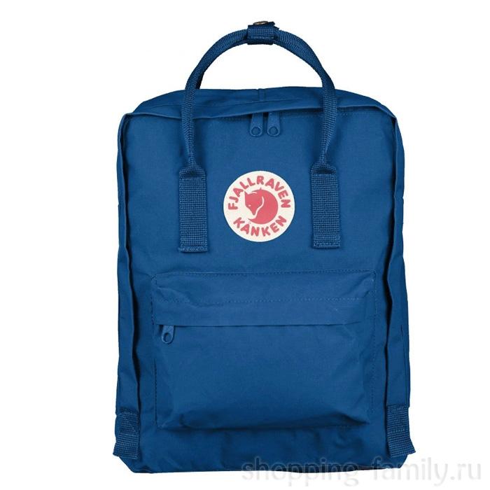 Городской сумка-рюкзак Fjallraven Kanken Classic, Цвет Синий
