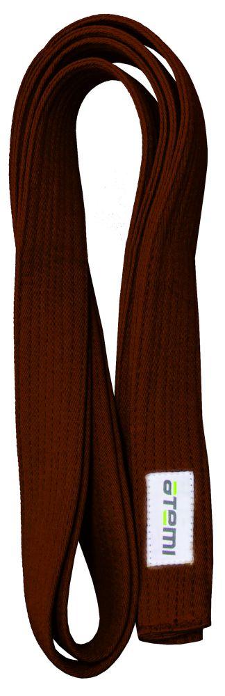 Пояс для кимоно ATEMI 280 см коричневый