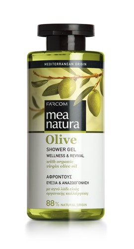 Mea Natura Olive, Гель для душа, 300 мл