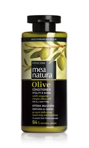 Mea Natura Olive, Кондиционер для всех типов волос, 300 мл