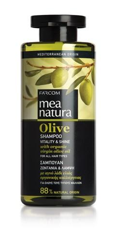 Mea Natura Olive, Шампунь для всех типов волос, 300 мл