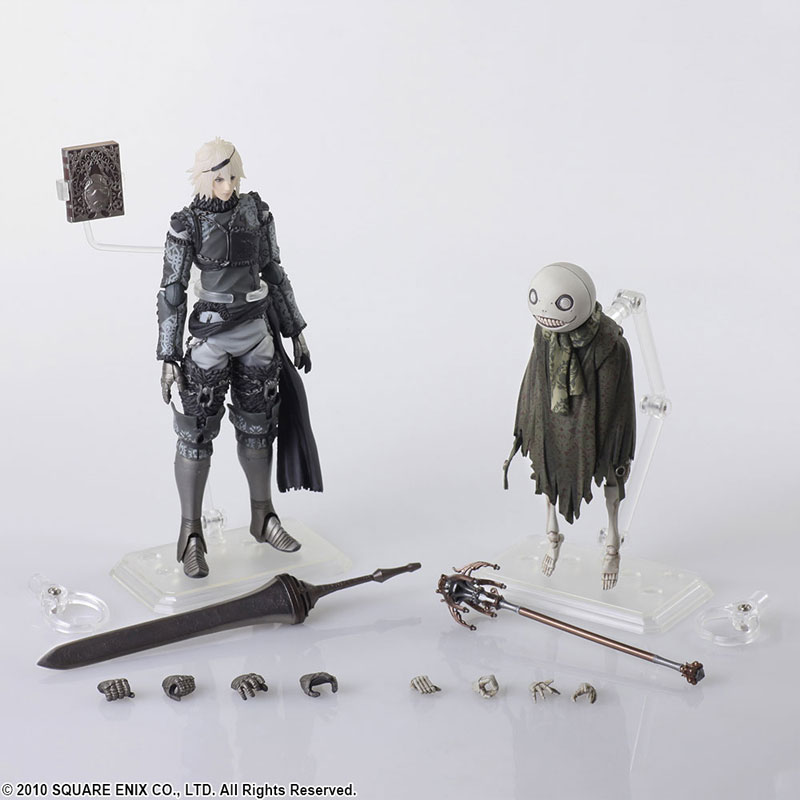 Фигурки Nier Replicant - Bring Arts NieR & Emil