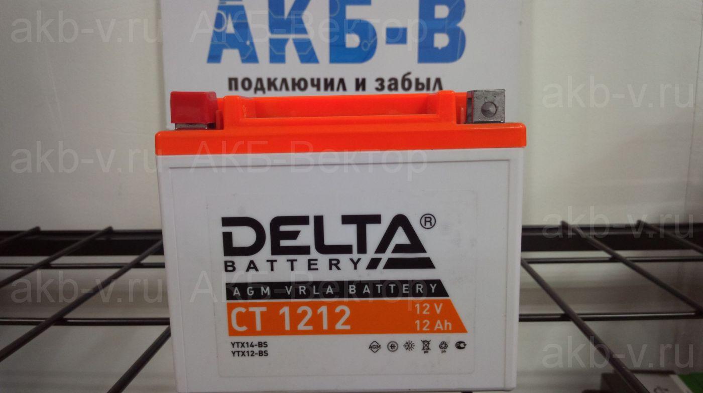 Delta СТ 1212 12Ач 180А(CCA)