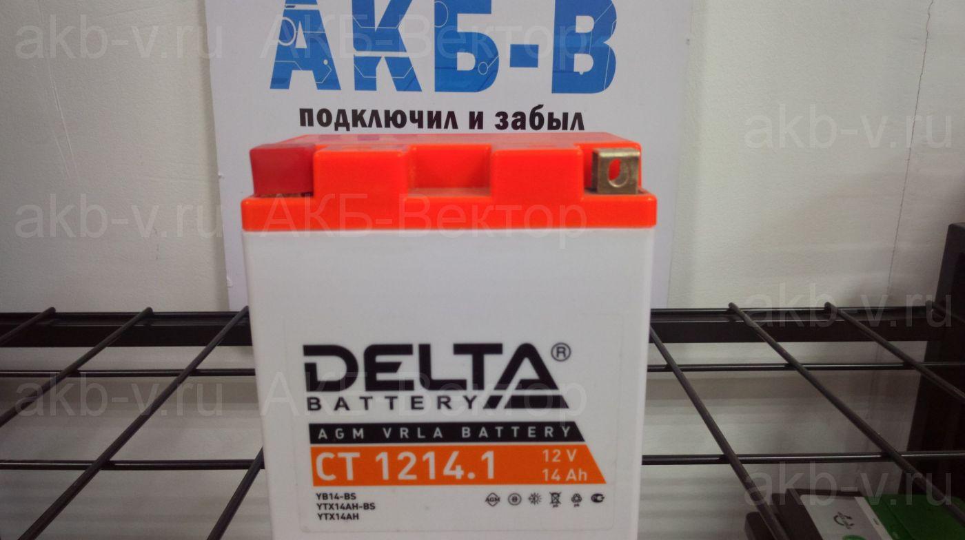Delta СТ 12-14.1 14Ач 165А(CCA)
