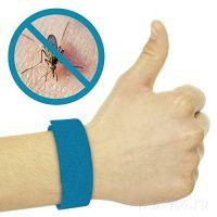 Браслет от комаров самозастегивающийся (силиконовый)