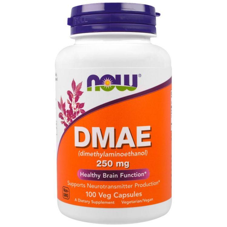 DMAE 250 mg от NOW 100 кап_