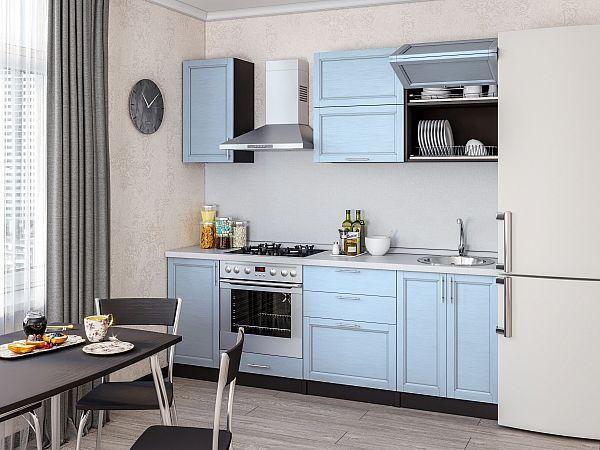 Кухня Сканди-01 Sky wood