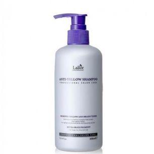 Anti Yellow Shampoo Шампунь оттеночный против желтизны волос 300мл