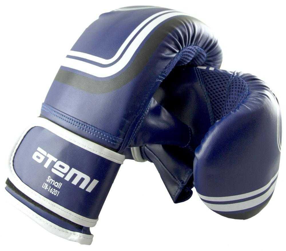 Перчатки снарядные ATEMI синие LTB-16201