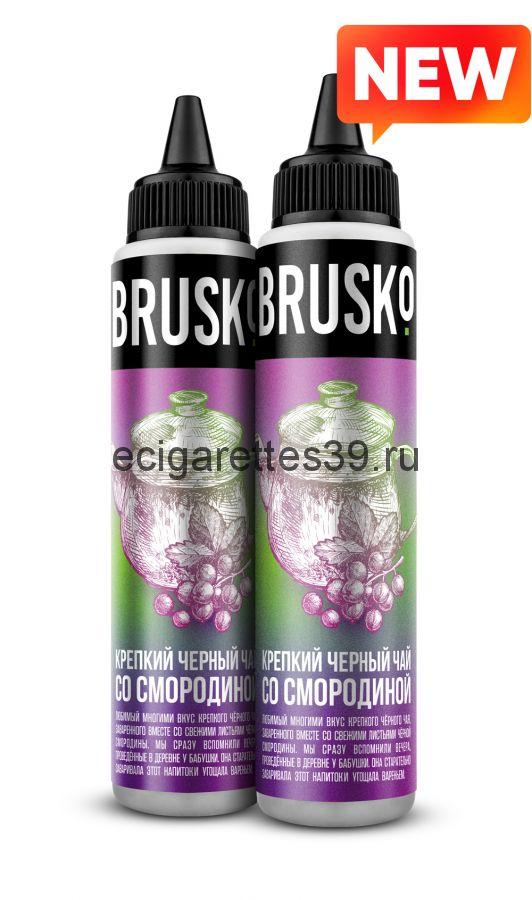 Жидкость Brusko, Крепкий черный чай со смородиной, 60 мл.