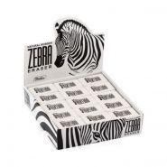 Ластик из натурального каучука Hatber Zebra 35х23х8 мм в картонной Дисплей-витрине (арт. 35BL_14231)
