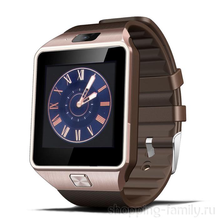 Умные часы Smart Watch DZ09, Цвет Золотой