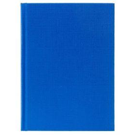 Бизнес-блокнот 96л А6ф клетка тв.переплет Бумвинил Синий (арт. 96ББ6бвВ1)