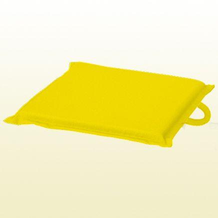 Подушка Оксфорд, цвет желтый