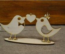 Влюбленные птички на подставке 16-483