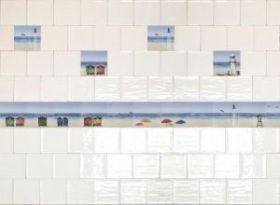 Плитка Fabresa Blanco Beach Decor Mix 15×15