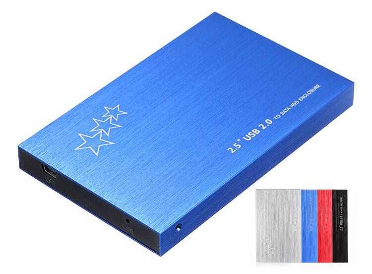"""Внешний корпус для жесткого диска HDD Box 2.5"""" SATA USB3.0 PXB-STAR"""