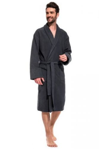 Мужской махровый халат Gray Label (Е 365)