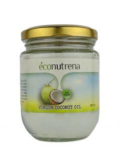 Кокосовое масло холодного отжима органическое 200 мл